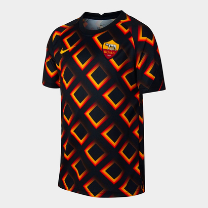 Nike AS Roma Pre Match Shirt 2020 2021 Junior
