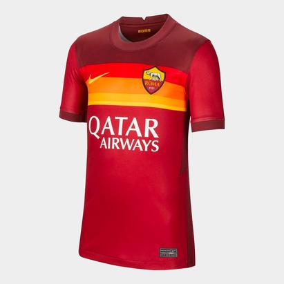 Nike AS Roma Home Shirt 2020 2021 Junior