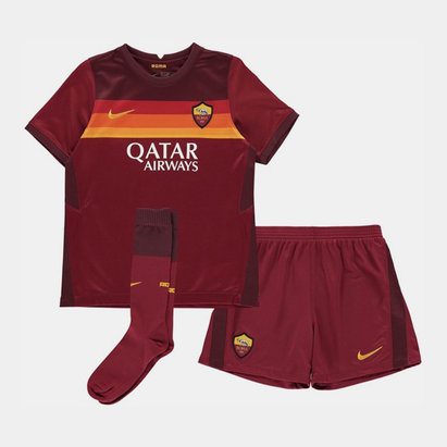 Nike AS Roma Home Mini Kit 2020 2021