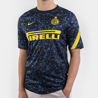 Nike Inter Milan Pre-Match Short Sleeve Top 20/21 Mens
