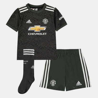 adidas Manchester United Away Mini Kit 20/21