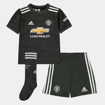 adidas Manchester United Away Mini Kit 20/21