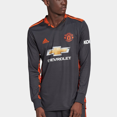 adidas Manchester United Home Goalkeeper Shirt 20/21 Mens