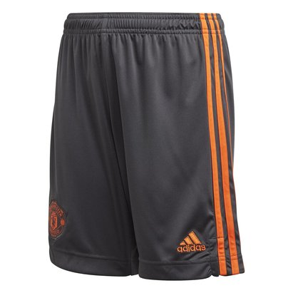 adidas Manchester United Goal Keeper Shorts Junior Boys
