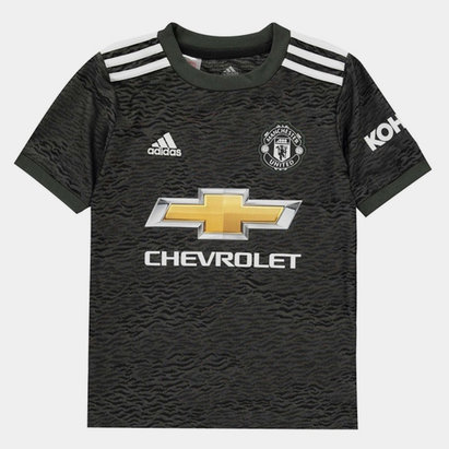adidas Manchester United Away Shirt 20/21 Kids