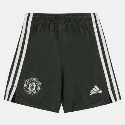 adidas Manchester United Away Shorts 20/21 Kids