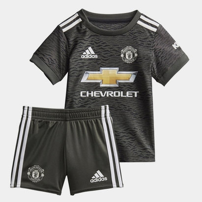 adidas Manchester United Away Baby Kit 20/21