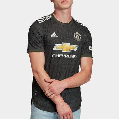 adidas Manchester United Authentic Away Shirt 20/21 Mens