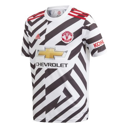 adidas Manchester United Third Shirt 20/21 Kids