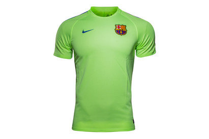 Nike FC Barcelona 2017 Dry Squad Football Training T-Shirt