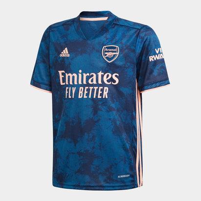 adidas Arsenal Third Shirt 20/21 Kids