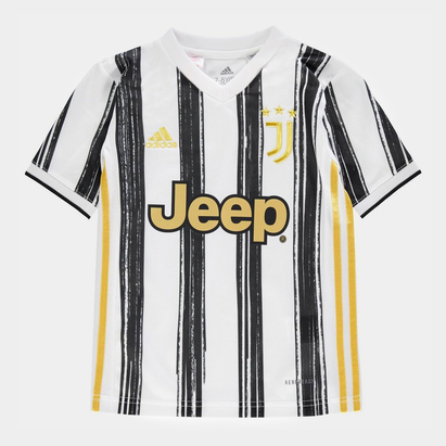 adidas Juventus Home Shirt 20/21 Kids