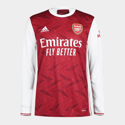 adidas Arsenal Home Long Sleeve Shirt 20/21 Mens