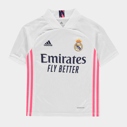 adidas Real Madrid Home Shirt 20/21 Kids