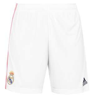 adidas Real Madrid Home Shorts 20/21 Mens