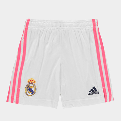 adidas Real Madrid Home Shorts 20/21 Kids