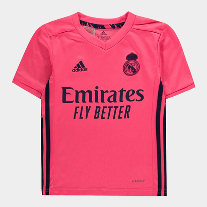 adidas Real Madrid Away Shirt 20/21 Kids