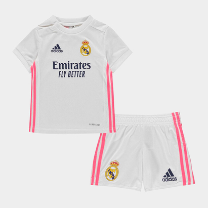 adidas Real Madrid Home Baby Kit 20/21