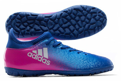 X 16.3 TF Kids Football Trainers