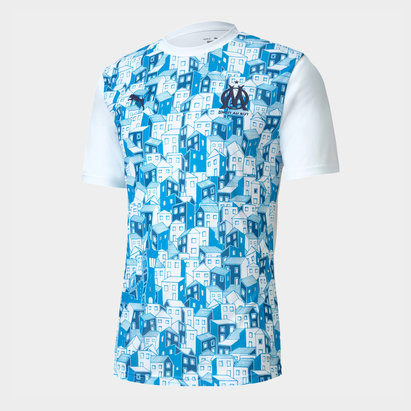 Puma Marseille Stadium Shirt 20/21 Mens