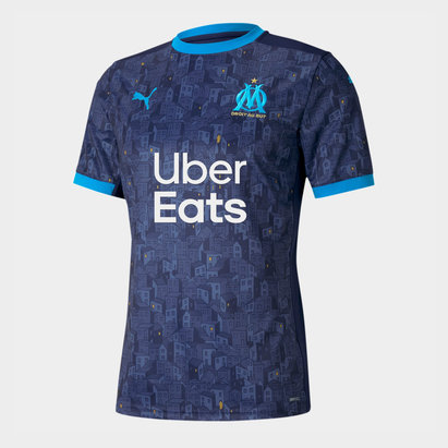 Puma Marseille Away Shirt 2020 2021
