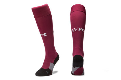 Under Armour Aston Villa 17/18 Home Football Socks