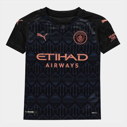 Puma Manchester City Away Shirt 20/21 Junior