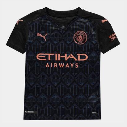 Puma Manchester City Away Shirt 20/21 Junior