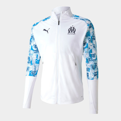 Puma Marseille Stadium Jacket Mens