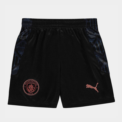 Puma Manchester City Away Shorts 20/21 Kids