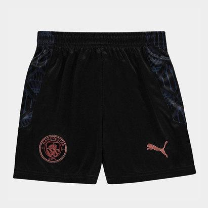 Puma Manchester City Away Shorts 20/21 Kids