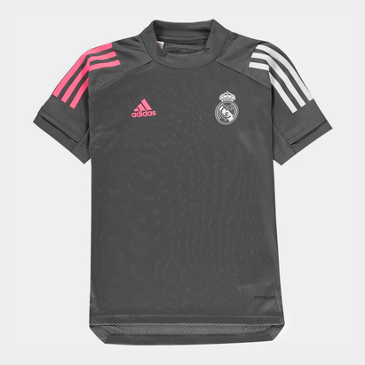 adidas Real Madrid Training Shirt 20/21 Junior