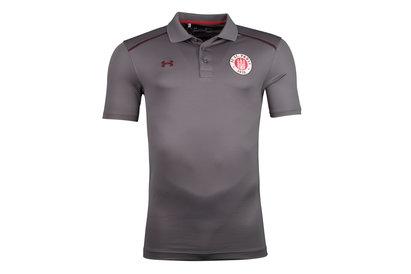 Under Armour FC St Pauli 17/18 Players Football Polo Shirt