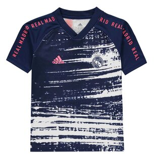 adidas Real Madrid Pre Match Shirt 20/21 Junior
