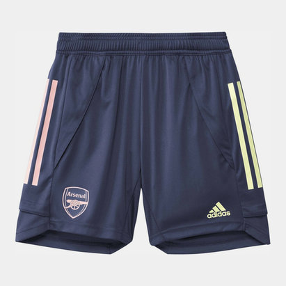 adidas Arsenal Training Shorts 2020 2021 Junior