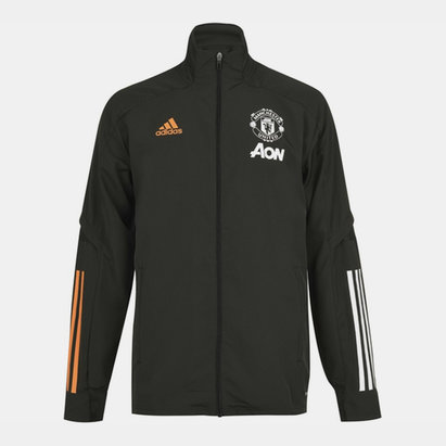 adidas Manchester United Presentation Jacket 20/21 Mens