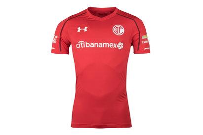 Deportivo Toluca 17/18 Home S/S Football Shirt