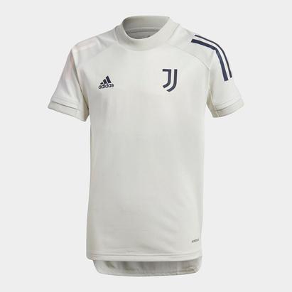 adidas Juventus Training Top 2020 2021 Junior