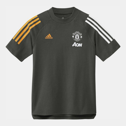adidas Manchester United T Shirt 20/21 Kids