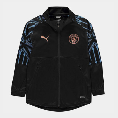 Puma Manchester City Stadium Jacket 20/21 Kids