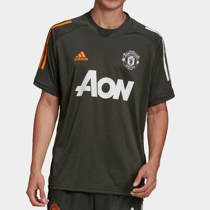 adidas Manchester United Training Shirt 20/21 Mens