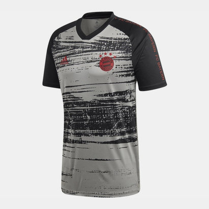 adidas Bayern Munich Pre Match Shirt 20/21 Mens