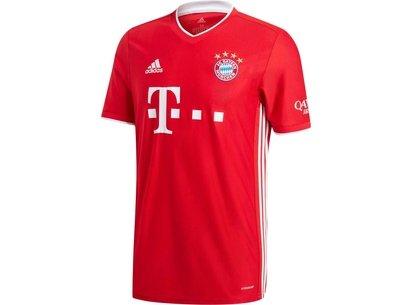 adidas Bayern Munich Home Shirt 2020 2021 Junior