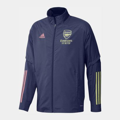 adidas Arsenal Pre Match Jacket 2020 2021 Mens