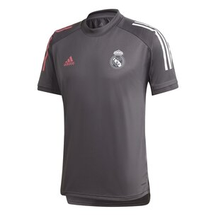 adidas Real Madrid Training Shirt 20/21 Mens