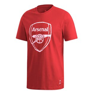 adidas Arsenal DNA T Shirt 20/21 Mens