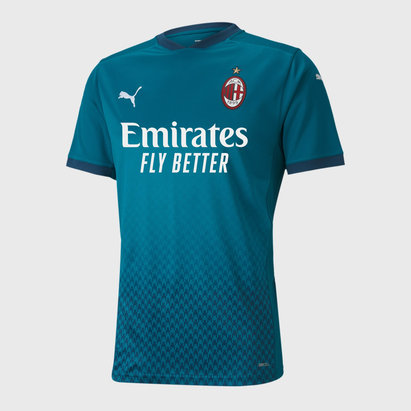 Puma AC Milan Third Shirt 20/21 Mens