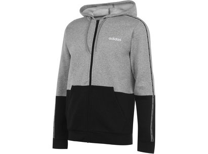 adidas C90 Taped Zip Hoody Mens