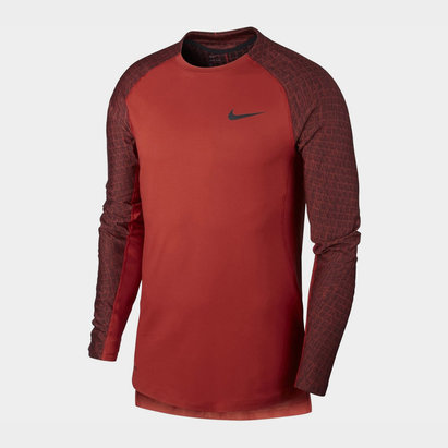 Nike Utility Thermal Mock T Shirt Mens