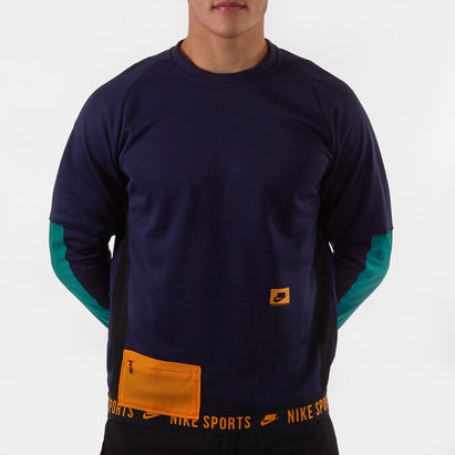 Nike Therma Crew Sweatshirt Mens